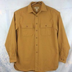 L.L. Bean Chamois Cloth Shirt Heavy Duty
